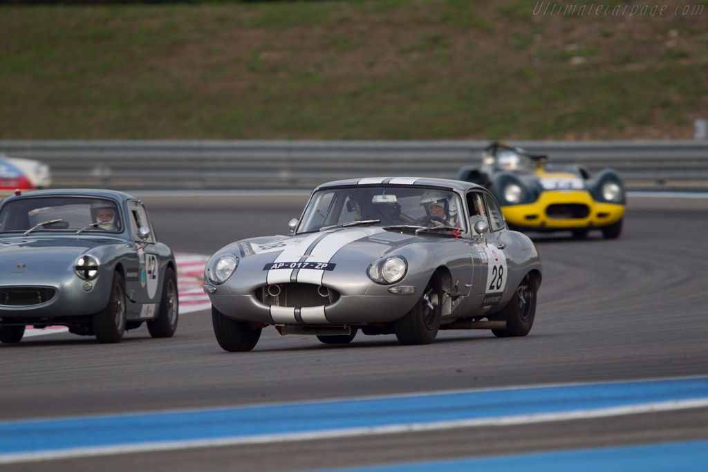 Jaguar E-Type - Chassis: 860343 - Driver: Ludovic le Boeuf / Serge Cozzolino  - 2013 Dix Mille Tours