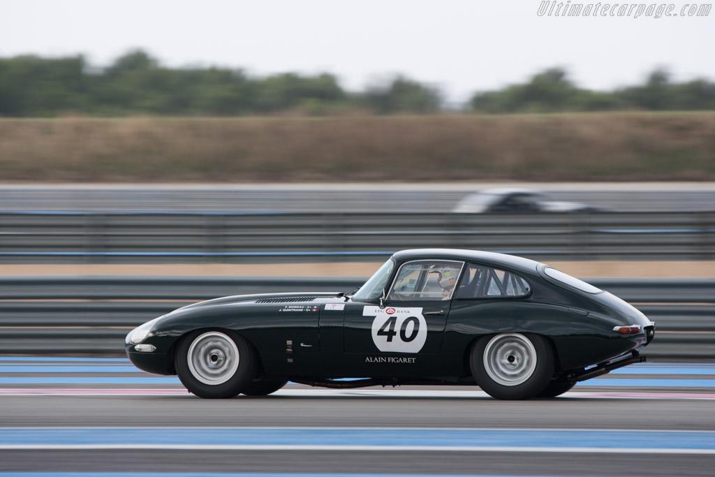 Jaguar E-Type - Chassis: 868891 - Driver: Jean-Michel Godet  /Nicolas Berthy  - 2013 Dix Mille Tours