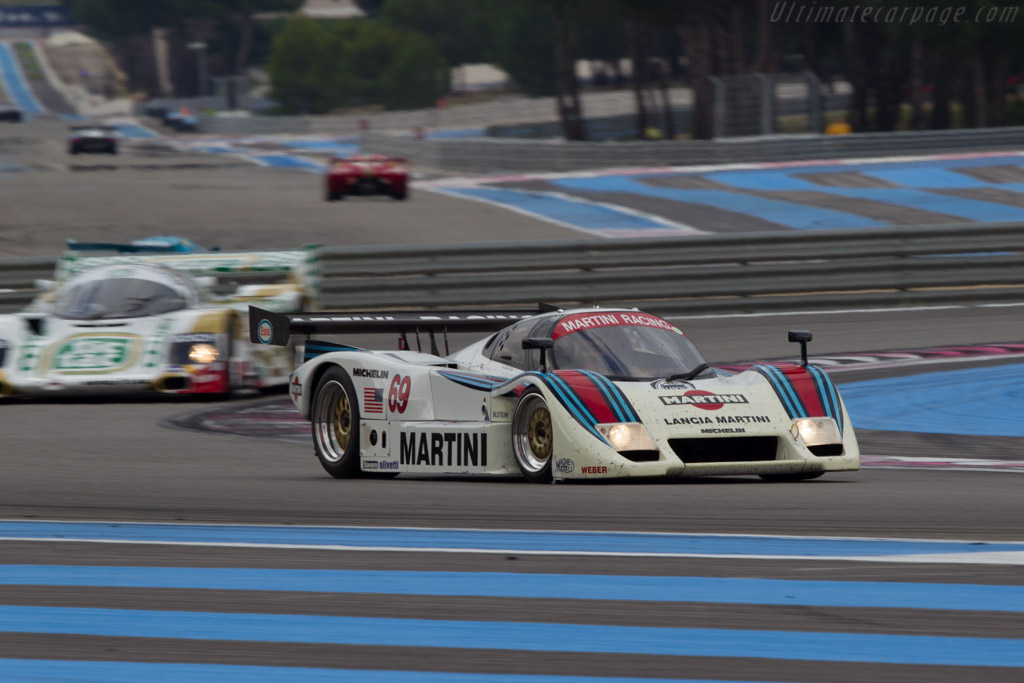 Lancia LC2 - Chassis: 0007 - Driver: Mr John of B  - 2013 Dix Mille Tours