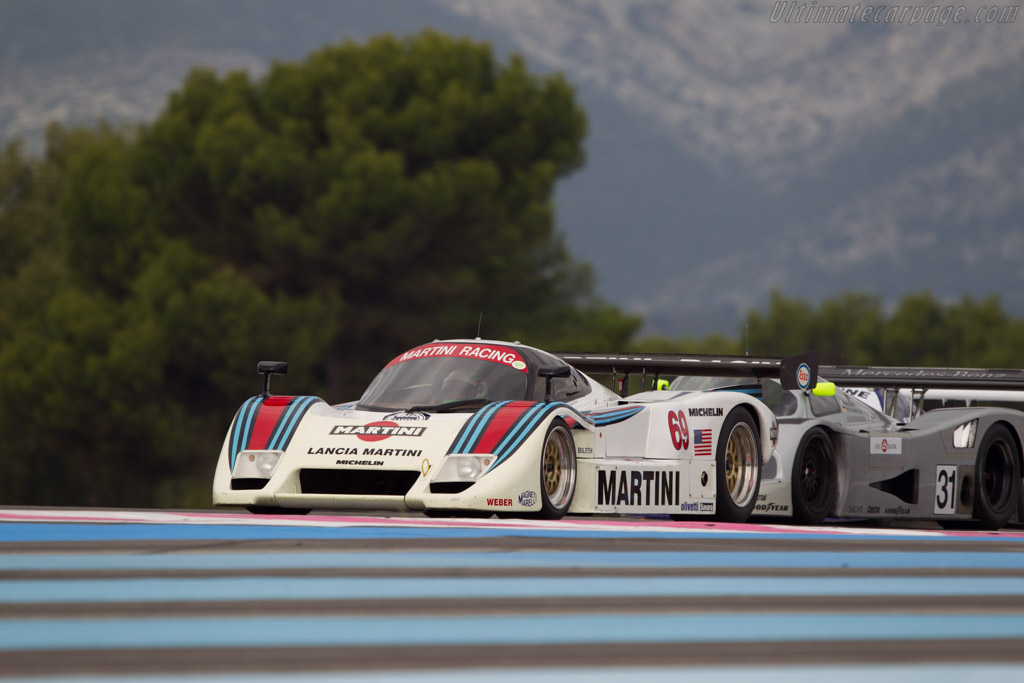 Lancia LC2 - Chassis: 0007 - Driver: Mauro Pane  - 2013 Dix Mille Tours