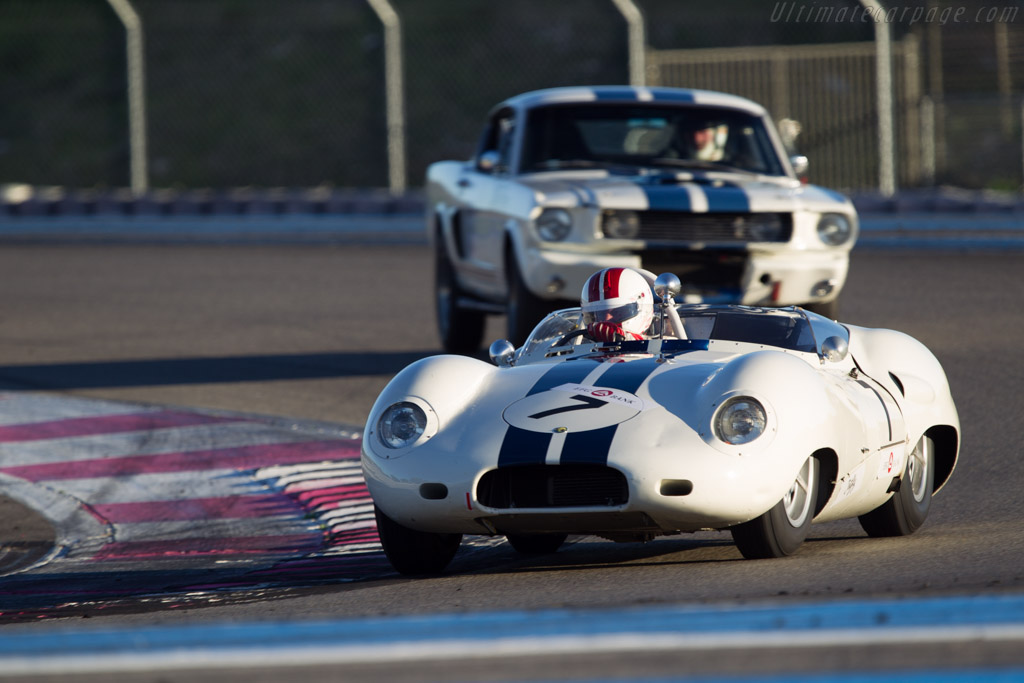 Lister Costin Jaguar - Chassis: BHL 122 - Driver: Olivier Cazalieres  - 2013 Dix Mille Tours
