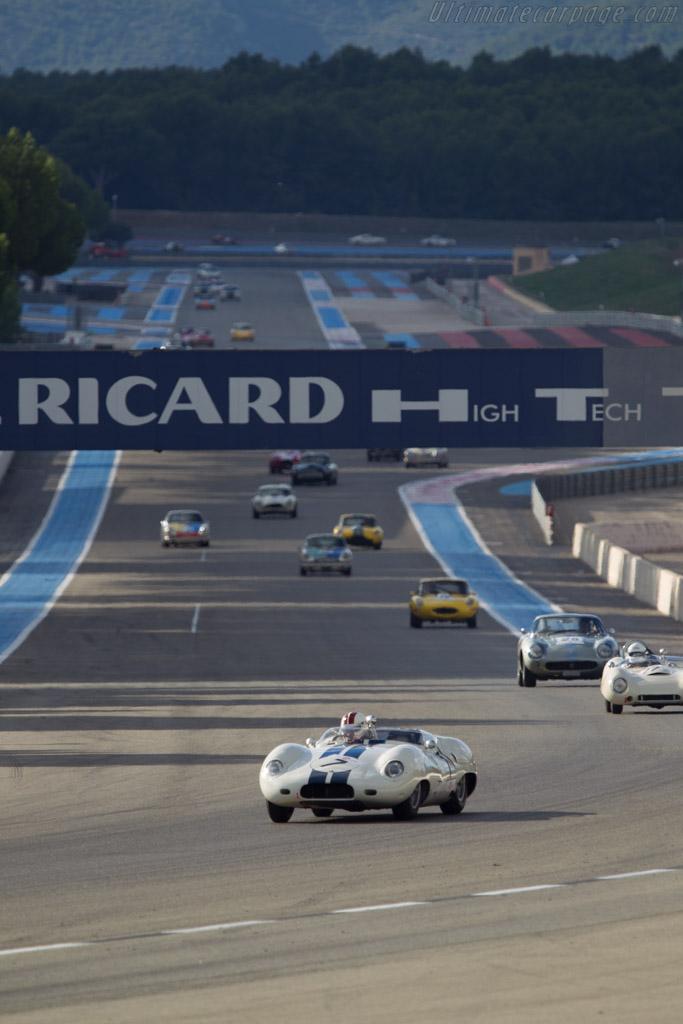 Lister Costin Jaguar - Chassis: BHL 122 - Driver: Olivier Cazalieres - 2013 Dix Mille Tours