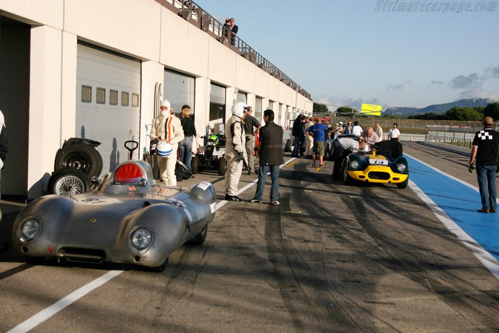 Lister Knobbly Jaguar  - Driver: Jan Geijzen  - 2013 Dix Mille Tours
