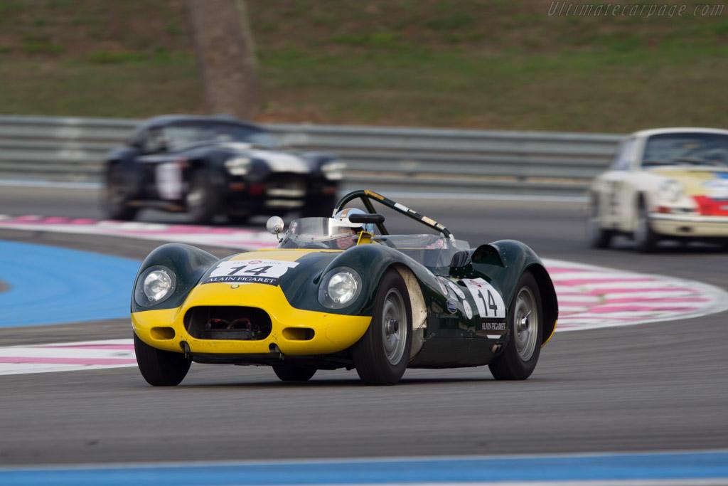 Lister Knobbly Jaguar  - Driver: Jan Gijzen  - 2013 Dix Mille Tours