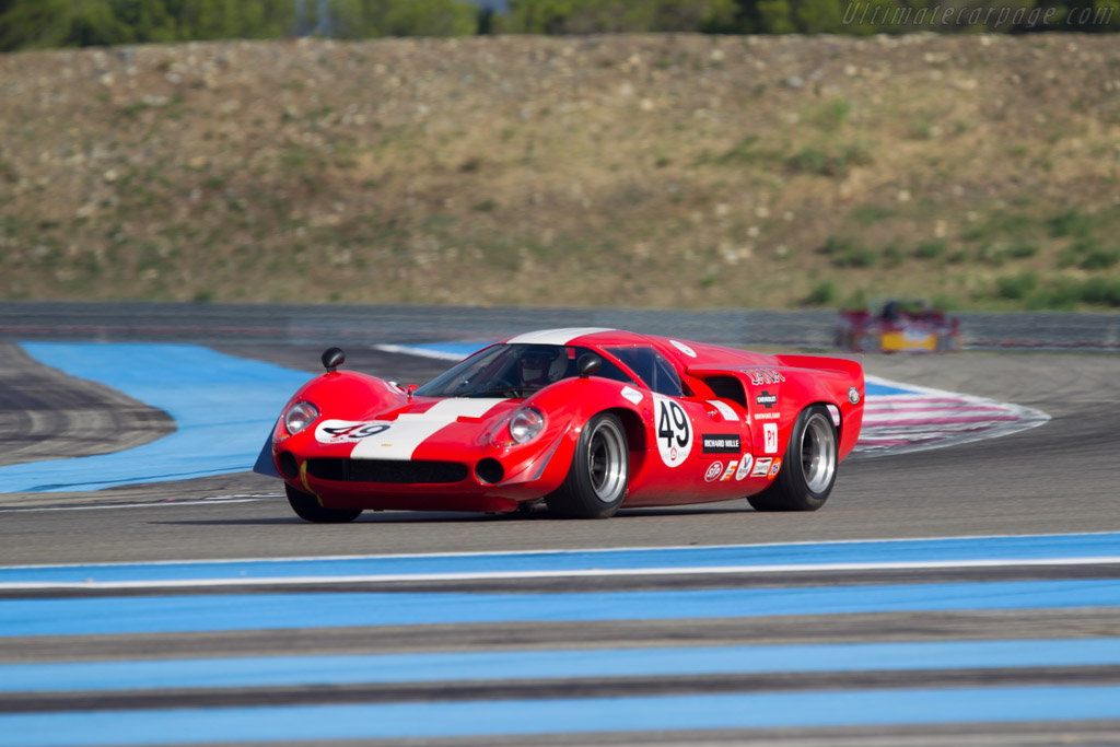 Lola T70 Mk3 Coupe - Chassis: SL73/114 - Driver: Thomas Studer  - 2013 Dix Mille Tours