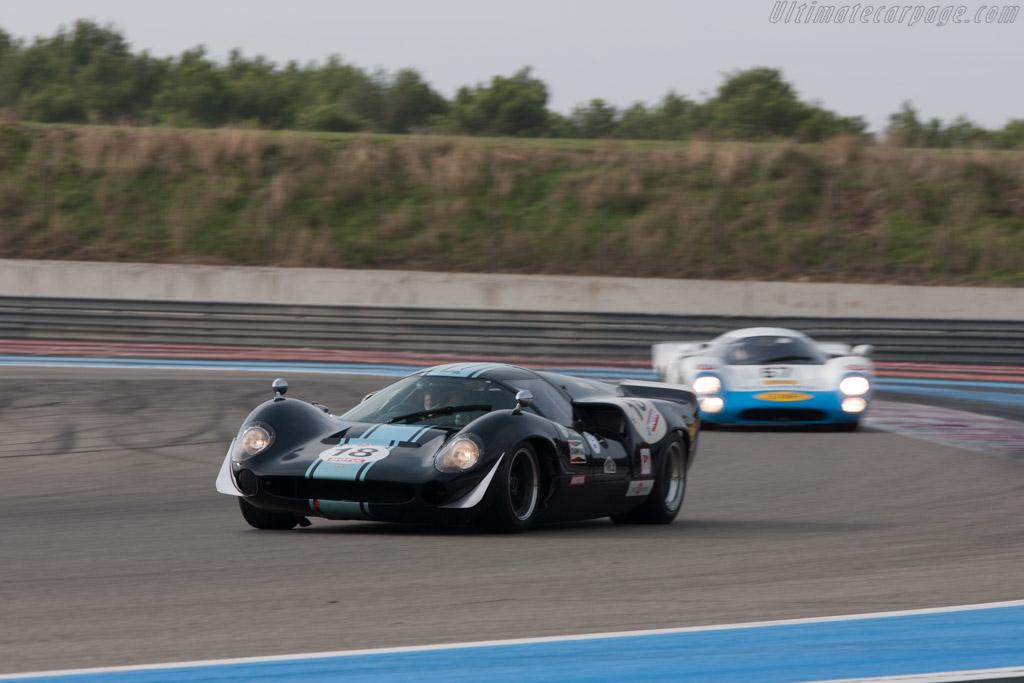 Lola T70 Mk3 Coupe - Chassis: SL73/106 - Driver: Thierry de Latre du Bosqeau / Eric Jamar  - 2013 Dix Mille Tours