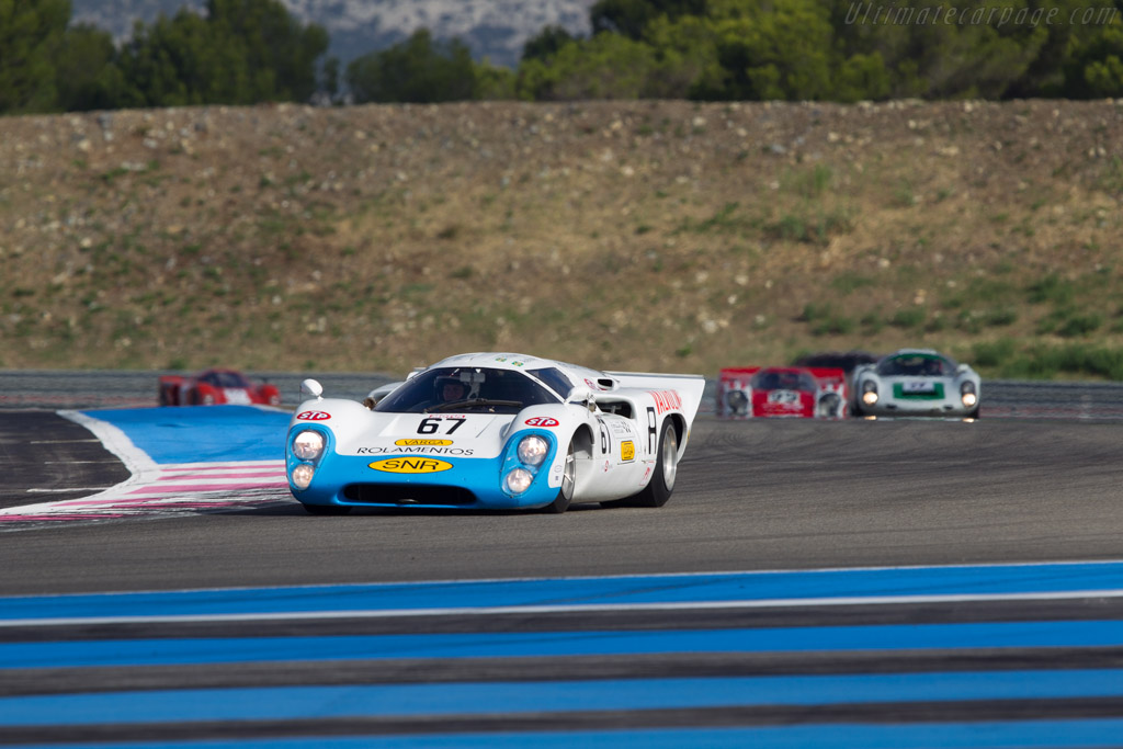 Lola T70 Mk3b Coupe - Chassis: SL76/153 - Driver: Simon Hadfield  - 2013 Dix Mille Tours