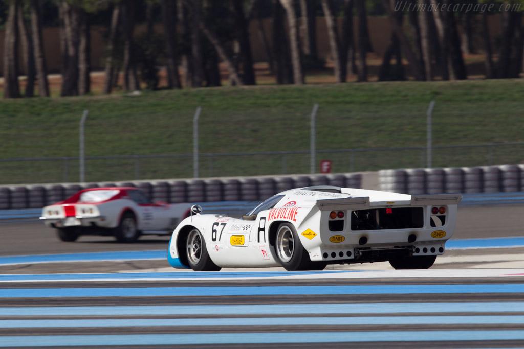 Lola T70 Mk3b Coupe - Chassis: SL76/153 - Driver: Leo Voyazides  - 2013 Dix Mille Tours