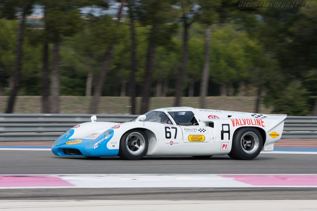 Lola T70 Mk3b Coupe - Chassis: SL76/153 - Driver: Leo Voyazides  - 2013 Dix Mille Tours