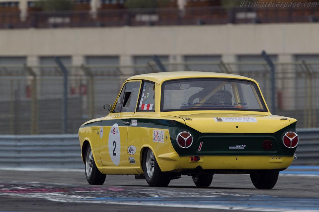 Lotus Cortina  - Driver: Rolland d'Abel de Libran  - 2013 Dix Mille Tours