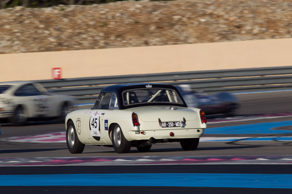 MG B - Chassis: GHN3/5890 - Driver: Pascal Amico  - 2013 Dix Mille Tours