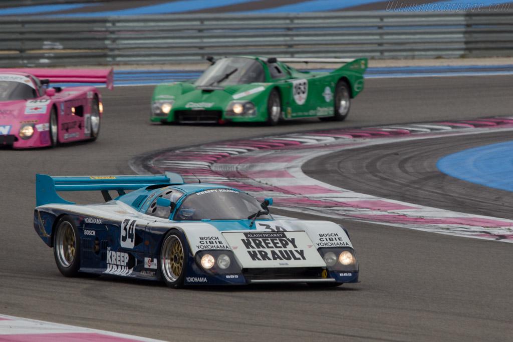 March 84G Porsche - Chassis: 84G/03 - Driver: Didier Sirgue / Marc de Siebenthal  - 2013 Dix Mille Tours