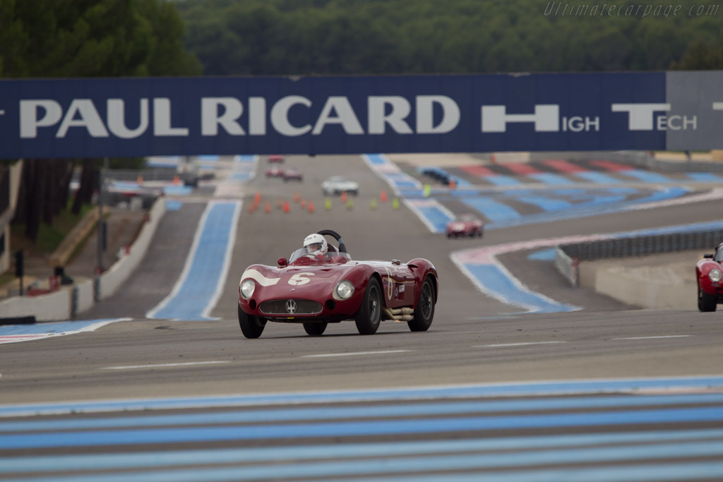 Maserati 300S - Chassis: 3059 - Driver: Carlo Vogele  - 2013 Dix Mille Tours