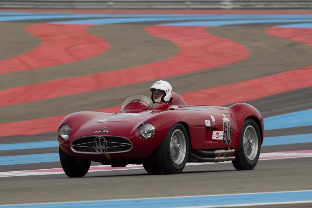 Maserati 300S - Chassis: 3053 - Driver: Pierre Mellinger  - 2013 Dix Mille Tours