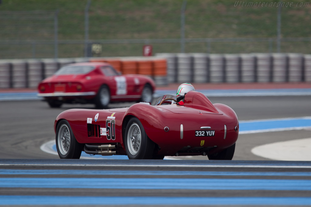 Maserati 300S - Chassis: 3053 - Driver: Tommaso Gelmini  - 2013 Dix Mille Tours
