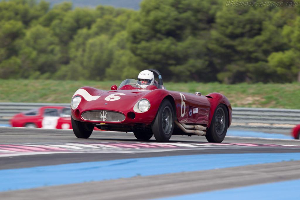 Maserati 300S - Chassis: 3059 - Driver: Carlo Vogele  - 2013 Dix Mille Tours