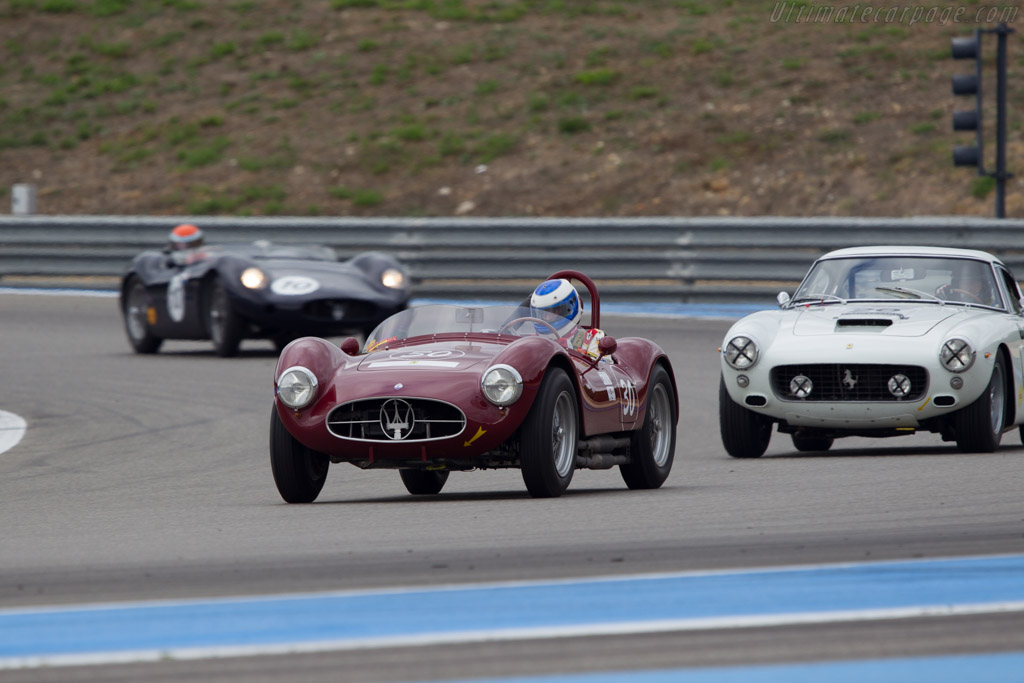 Maserati A6GCS/53 - Chassis: 2084 - Driver: Jean-Jacques Bally  - 2013 Dix Mille Tours