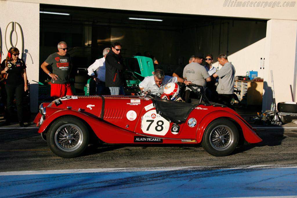 Morgan +4 - Chassis: 4156 - Driver: Hans Hugenholtz  - 2013 Dix Mille Tours