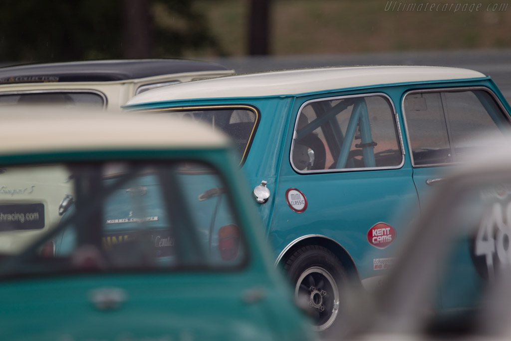 Morris Mini Cooper S  - Driver: Philippe Quiriere  - 2013 Dix Mille Tours