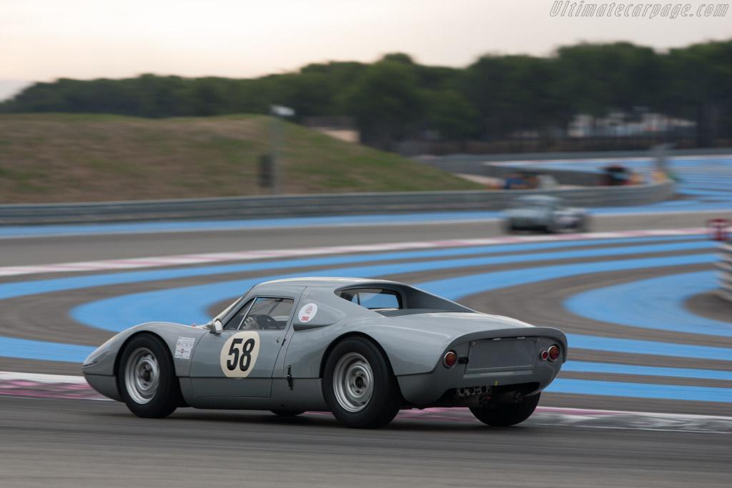 Porsche 904/6 - Chassis: 906-002 - Driver: Peter Vogele  - 2013 Dix Mille Tours