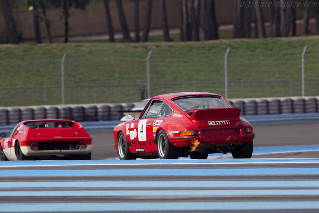 Porsche 911 Carrera RS 2.7 - Chassis: 911 360 0761 - Driver: Eric Everard  - 2013 Dix Mille Tours