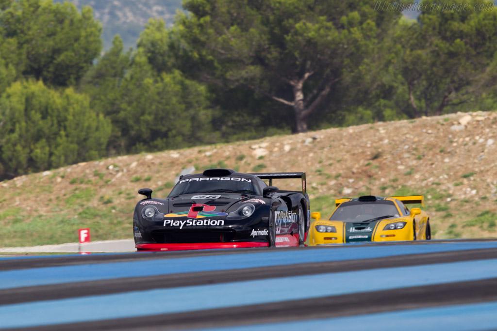 Porsche 911 GT1 - Chassis: 993-GT1-109 - Driver: Mark Sumpter  - 2013 Dix Mille Tours