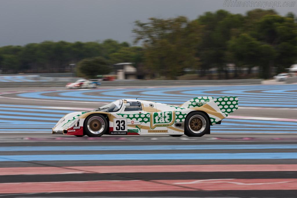 Porsche 962C - Chassis: 962-141 - Driver: Henrik Lindberg  - 2013 Dix Mille Tours