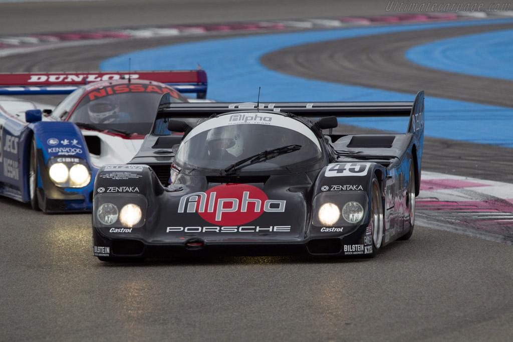Porsche 962C - Chassis: 962-154 - Driver: Pierre-Alain France / Erwin France  - 2013 Dix Mille Tours