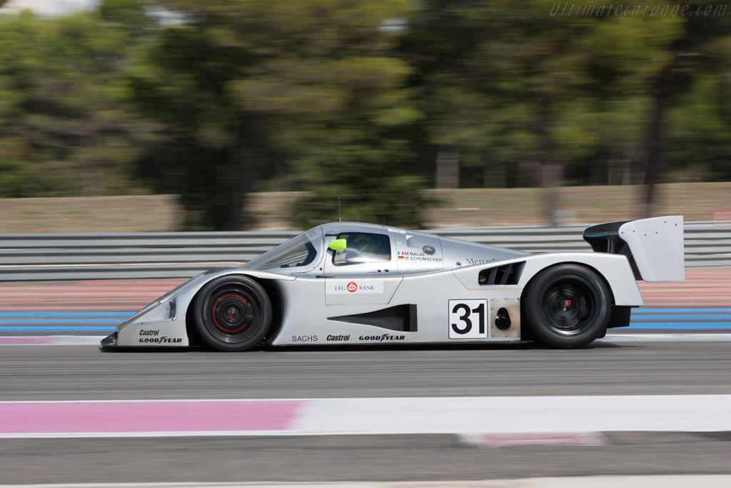 Sauber-Mercedes C11 - Chassis: 89.C11.00 - Driver: Gareth Evans / Bob Berridge  - 2013 Dix Mille Tours