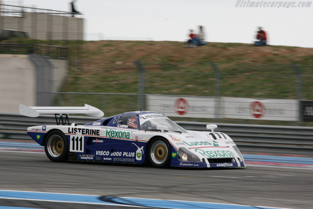 Spice SE88C Cosworth - Chassis: SE88C-003 - Driver: Mike Donovan  - 2013 Dix Mille Tours
