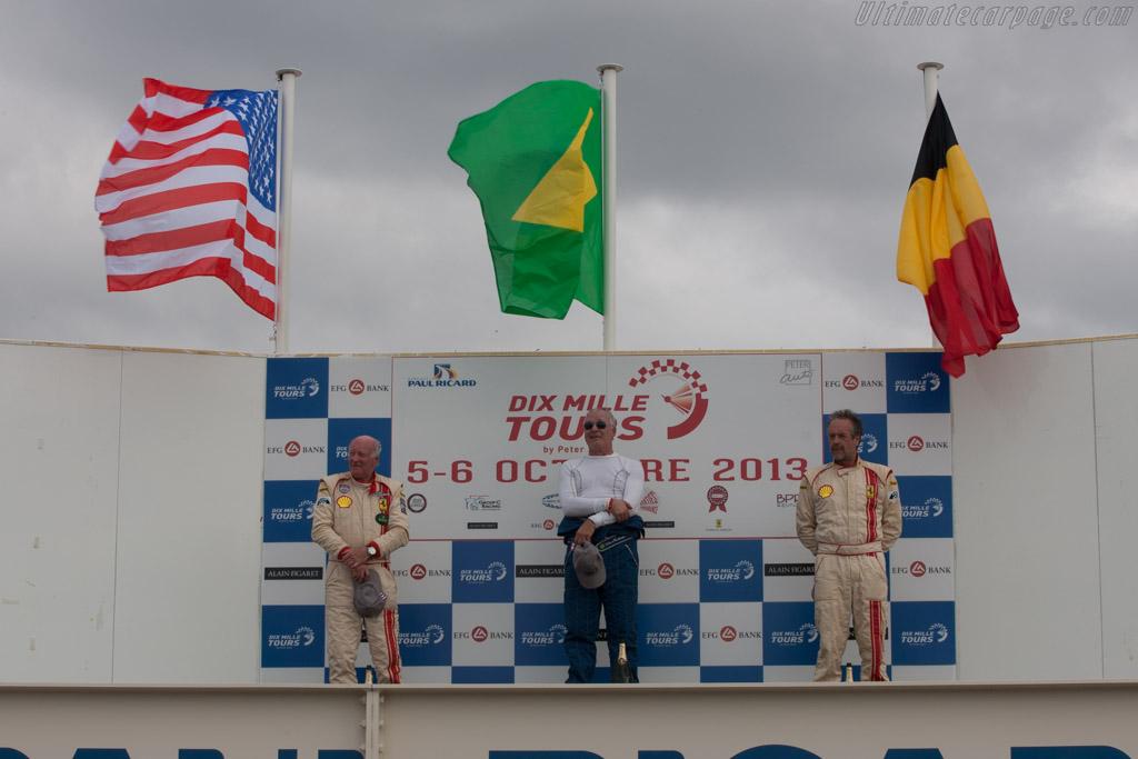 The podium    - 2013 Dix Mille Tours
