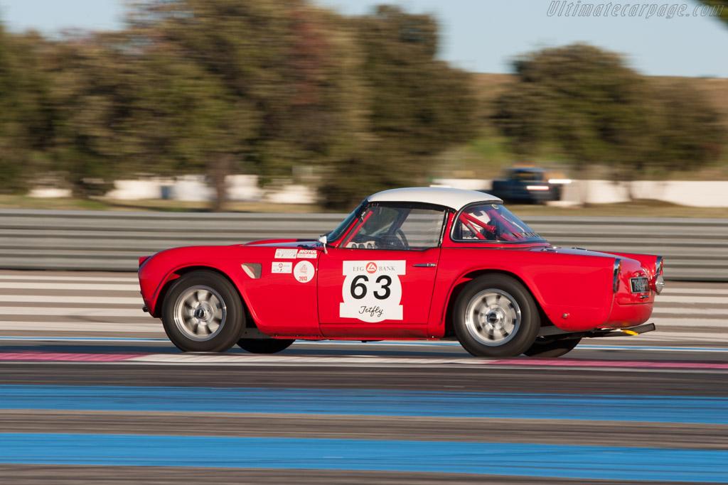 Triumph TR4 - Chassis: GT7236 - Driver: Mark Rachet/Alain Lacroix  - 2013 Dix Mille Tours