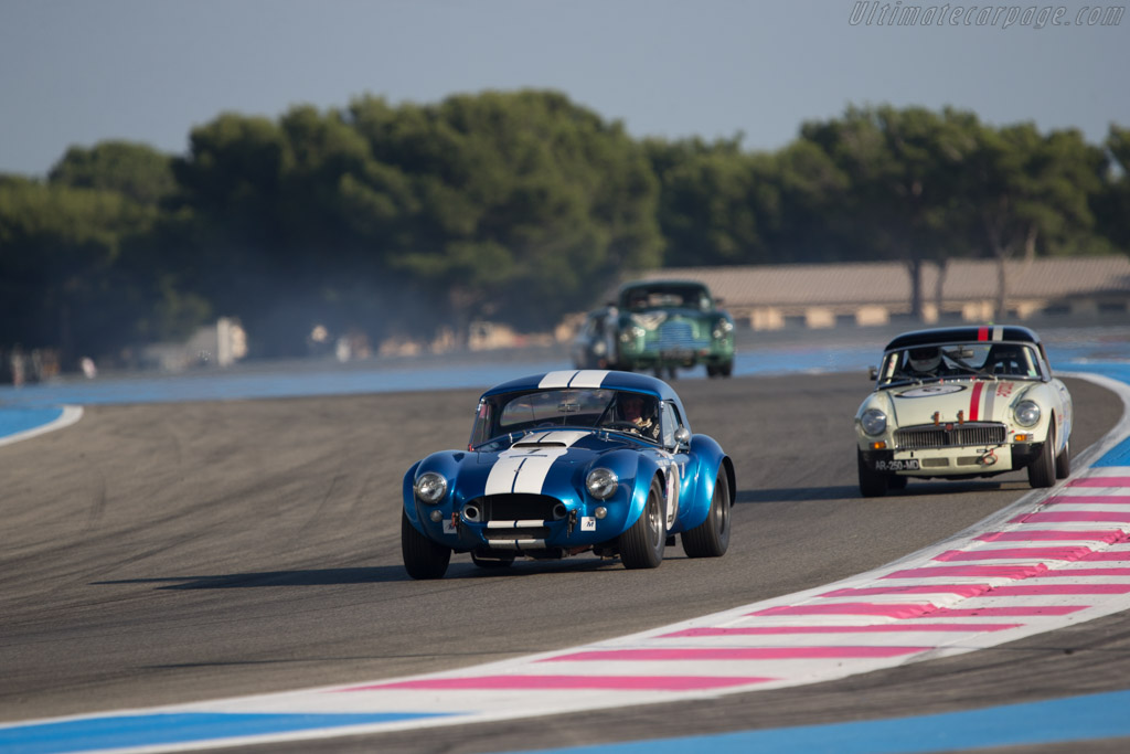 AC Shelby Cobra - Chassis: COX6013 - Driver: Yvan Mahe  - 2014 Dix Mille Tours
