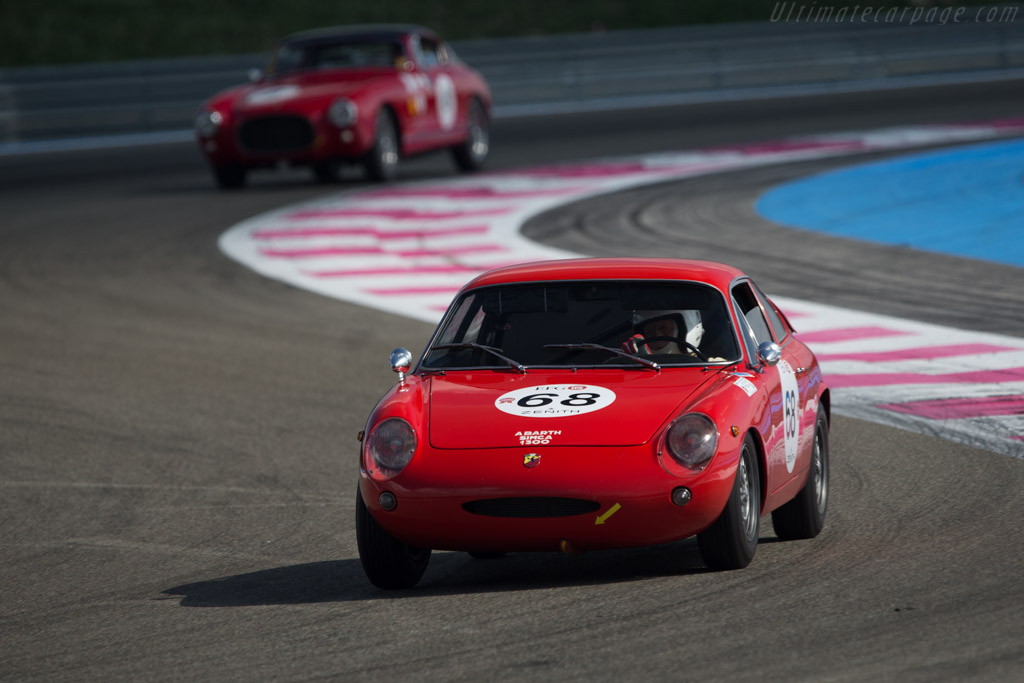 Abarth Simca 1300 - Chassis: 00079 - Driver: Philippe Gertsch - 2014 Dix Mille Tours