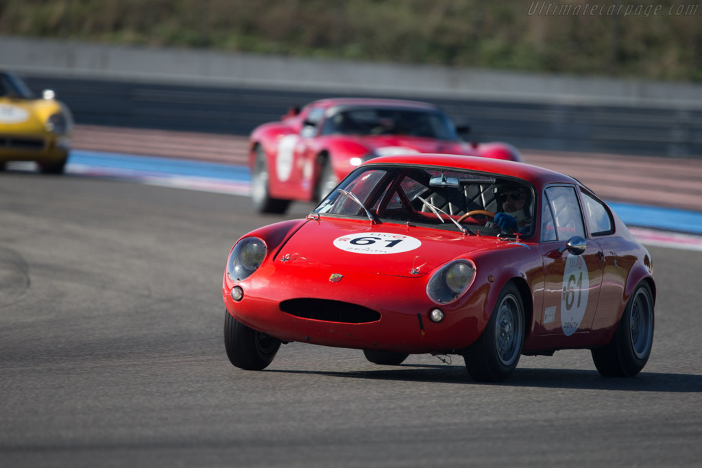Abarth Simca 1300 - Chassis: 00061 - Driver: Gilles Guichet  - 2014 Dix Mille Tours