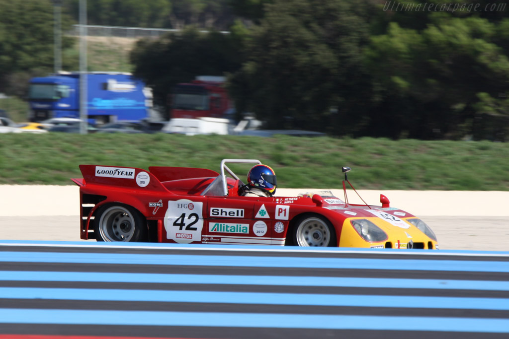 Alfa Romeo 33/TT/3 - Chassis: 11572-002 - Driver: Erik Maris  - 2014 Dix Mille Tours