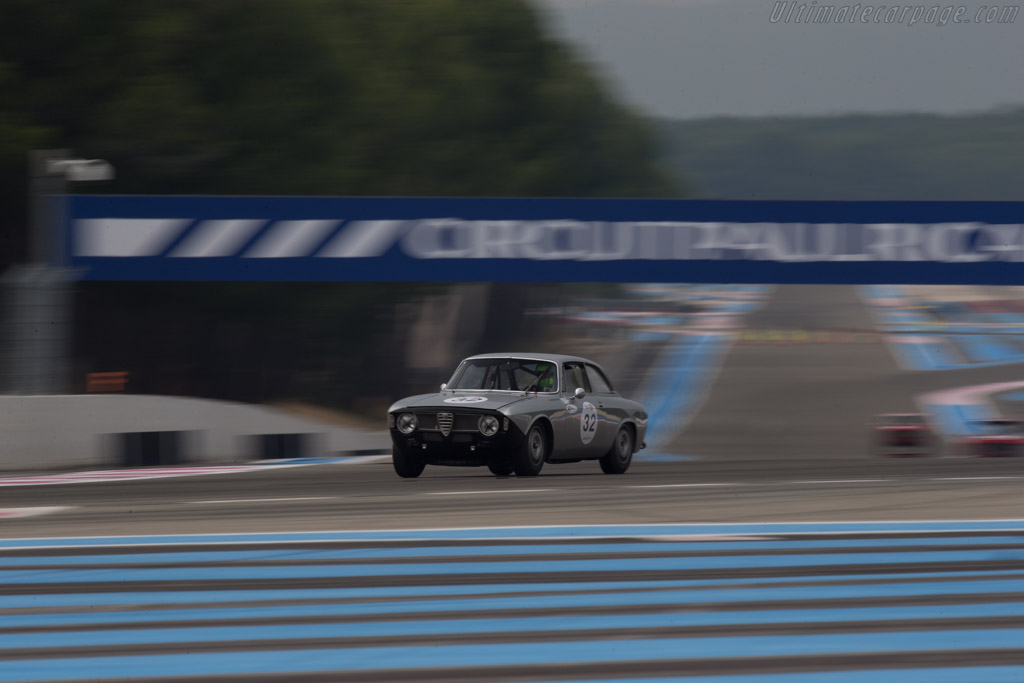 Alfa Romeo Giulia GTA  - Driver: Laurent Levaux  - 2014 Dix Mille Tours
