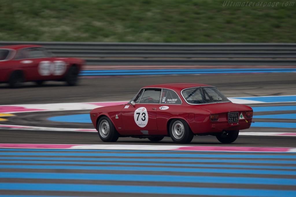 Alfa Romeo Giulia GTA  - Driver: Lucien Guitteny  - 2014 Dix Mille Tours