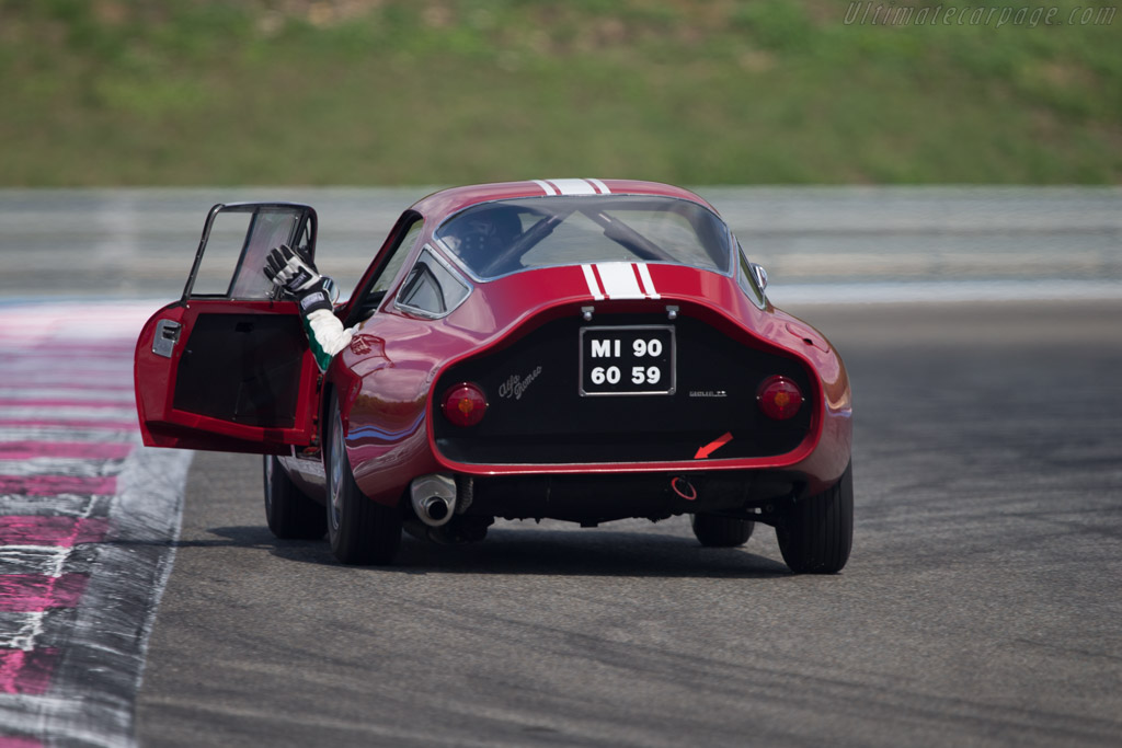 Alfa Romeo TZ - Chassis: AR10511 750098 - Driver: Lucien Guitteny - 2014 Dix Mille Tours