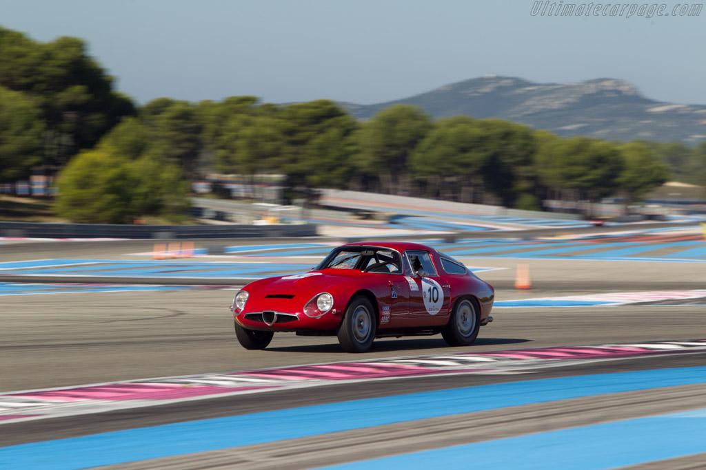 Alfa Romeo TZ - Chassis: AR750032 - Driver: Jean-Pierre Grave  - 2014 Dix Mille Tours