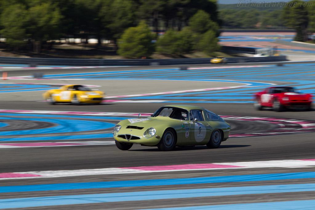 Alfa Romeo TZ - Chassis: AR750017 - Driver: Yves Vogele / Alain Vogele  - 2014 Dix Mille Tours