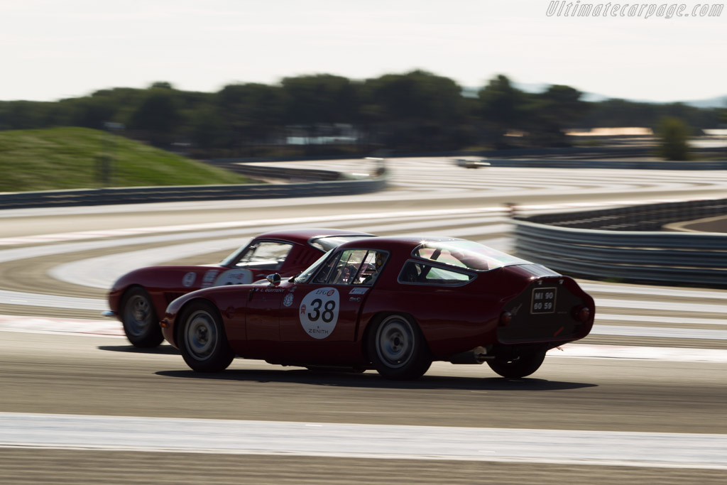 Alfa Romeo TZ - Chassis: AR750098 - Driver: Lucien Guitteny  - 2014 Dix Mille Tours