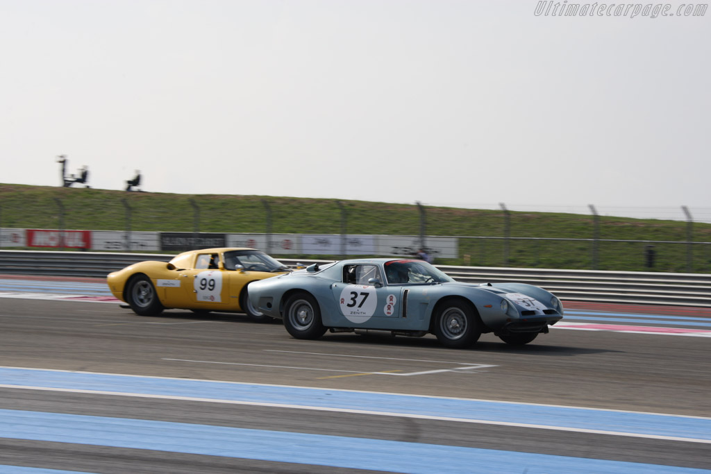 Bizzarrini 5300 GT - Chassis: IA3 0293 - Driver: Jean Branderburg / Jean-Luc George  - 2014 Dix Mille Tours