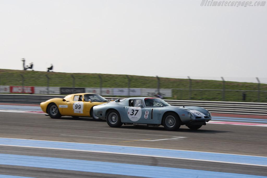 Bizzarrini 5300 GT - Chassis: IA3 0293 - Driver: Jean Branderburg / Jean-Luc George  - 2014 Dix Mille Tours