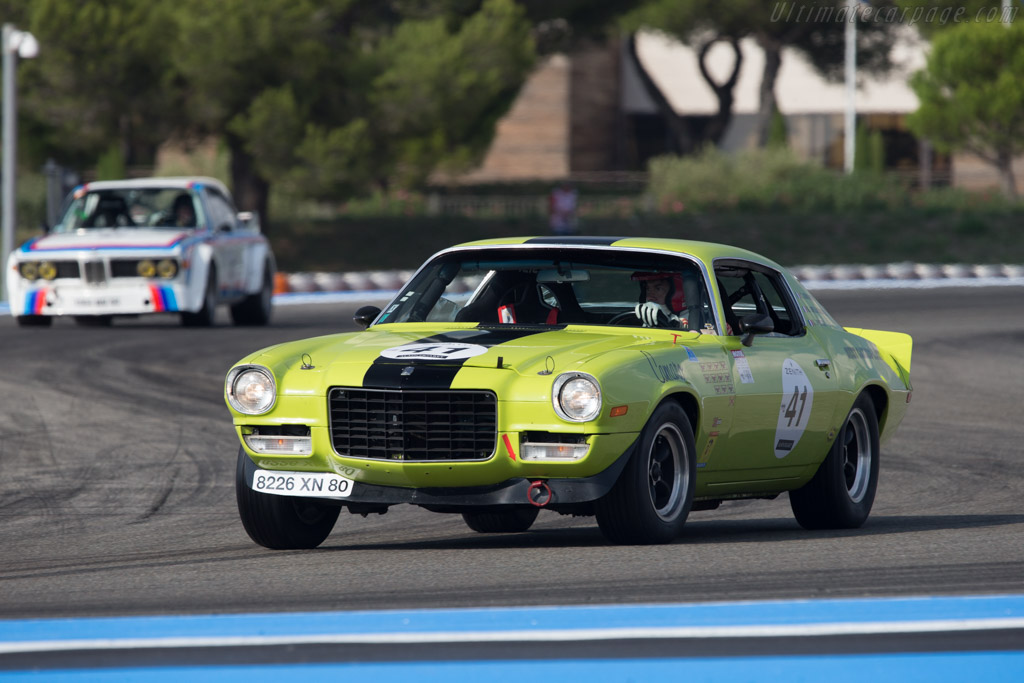 Chevrolet Camaro Z/28 - Chassis: 70-12487BL12292 - Driver: Geoffrey Peter / Christophe Brunhes  - 2014 Dix Mille Tours