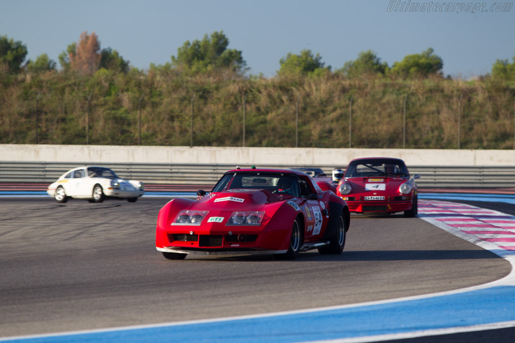 Chevrolet Corvette - Chassis: 194378S419425 - Driver: Ralf Huber Gutierrez  - 2014 Dix Mille Tours