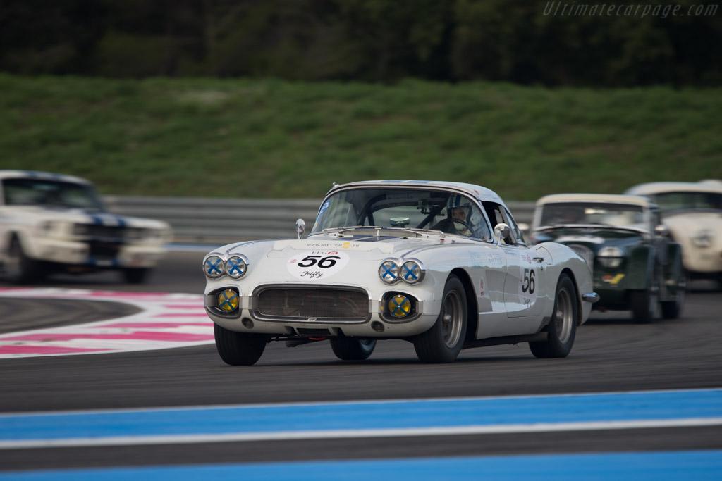 Chevrolet Corvette - Chassis: F58S114142 - Driver: Vincent Gleyze / Olivier Monot  - 2014 Dix Mille Tours