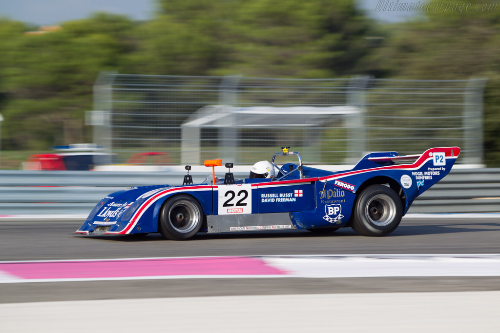 Chevron B31 Hart - Chassis: B31-75-04 - Driver: Russell Busst  - 2014 Dix Mille Tours