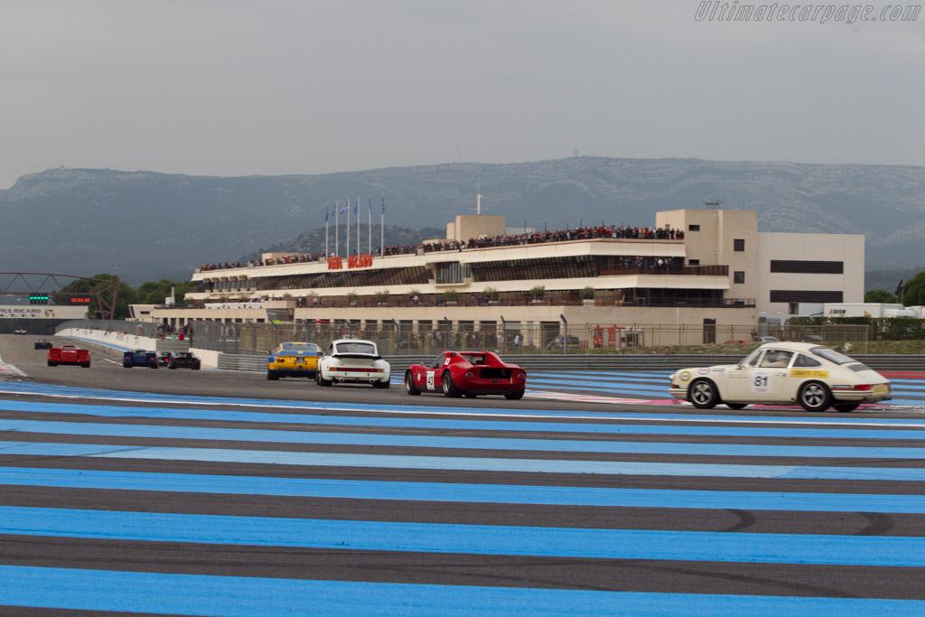 Chevron B8 - Chassis: CH-DBE-47 - Driver: Jean-Pierre Lestrade / Pierre Aviron-Violet  - 2014 Dix Mille Tours