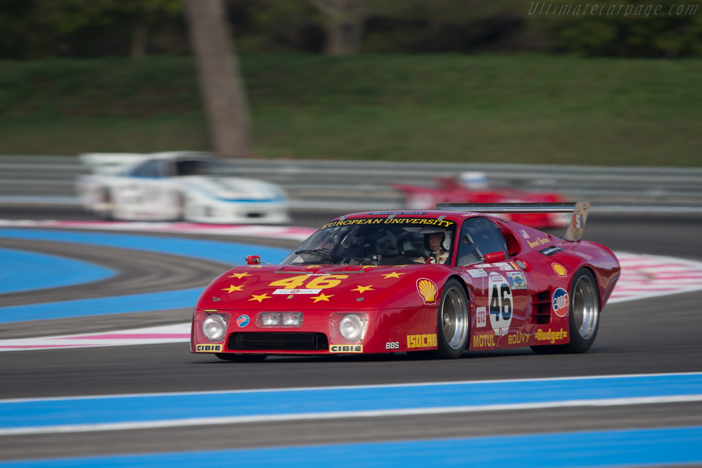 Ferrari 512 BB LM - Chassis: 35525 - Driver: Christian Bouriez  - 2014 Dix Mille Tours